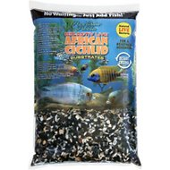 Pure Water Pebbles Bio-Activ Live African Cichlid Aquarium Substrate, 20-lb bag, Rift Lake