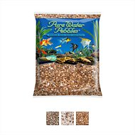 Pure Water Pebbles Natural Aquarium Gravel, 5-lb bag, Nutty Pebbles