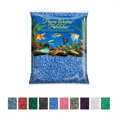 1. Pure Water Pebbles Coated Gravel