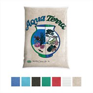 Aqua Terra Aquarium & Terrarium Sand, 5-lb bag, Natural Tan