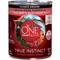 Purina ONE SmartBlend True Instinct Classic Ground with Real Beef & Wild-Caught Salmon Dog Food