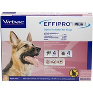 Virbac EFFIPRO Plus Topical Solution for Large Dogs 45-88.9 lbs, 3 Treatments