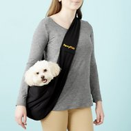 FurryFido Reversible Pet Sling, Black