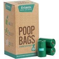 Frisco Refill Planet Friendly Dog Poop Bag, Unscented, 120 count