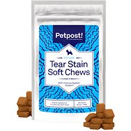 Petpost Tear Stain Soft Chews for Dogs, 90 count