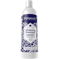 Petpost Whitening Dog Shampoo, 8-oz bottle