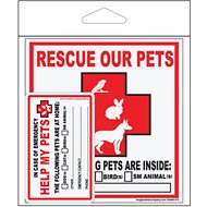"Imagine This Company ""Rescue Our Pets"" Decal & Wallet Card Kit"