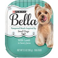 Purina Bella with Lamb in Savory Juices Small Breed Dog Food Trays, 3.5-oz, case of 12