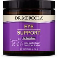 Dr. Mercola Eye Support Dog & Cat Supplement, 6.35-oz jar