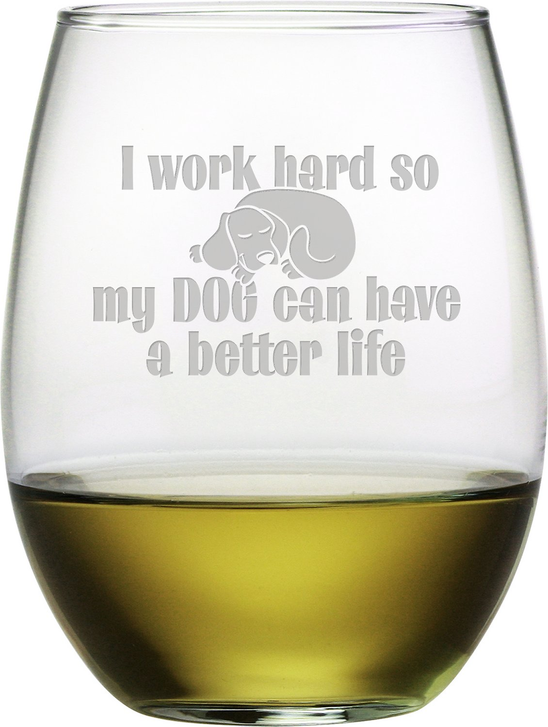 """Dp On Hard Work: Susquehanna Glass """"I Work Hard So My Dog Can Have A Better"""