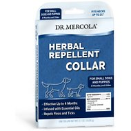 Dr. Mercola Herbal Flea, Tick & Mosquito Repellent Collar for Small Dogs & Puppies, 0.7-oz, 1 Collar