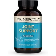Dr. Mercola Joint Support Dog & Cat Supplement, 60 Tablets