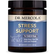 Dr. Mercola Zen Pet Dog & Cat Dietary Supplement, 1.3-oz jar