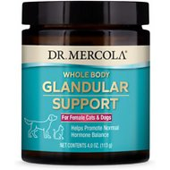 Dr. Mercola Pet Whole Body Glandular Support Female Dog Supplement, 4.0-oz jar