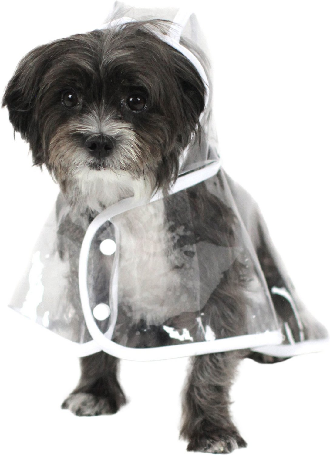Safety Pet Dog Raincoat Waterproof Rain Coat Jackets Dog Puppy Reflective Raincoats Clothing