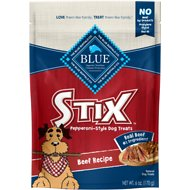 Blue Buffalo Blue Stix Beef Recipe Pepperoni-Style Dog Treats, 6-oz bag