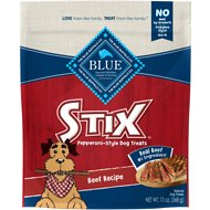 Blue Buffalo Blue Stix Beef Recipe Pepperoni-Style Dog Treats, 13-oz bag