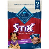 Blue Buffalo Blue Stix Lamb Recipe Pepperoni-Style Dog Treats, 6-oz bag