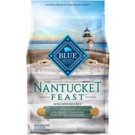 Blue Buffalo Nantucket Feast Cod, Shrimp, Yukon Gold Potatoes & Cranberries Dry Dog Food, 4-lb bag