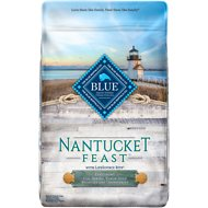Blue Buffalo Nantucket Feast Cod, Shrimp, Yukon Gold Potatoes & Cranberries Dry Dog Food, 22-lb bag