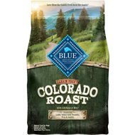 Blue Buffalo Colorado Roast Lamb, Yukon Gold Potatoes, Peas & Apples Grain-Free Dry Dog Food, 4-lb bag