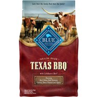 Blue Buffalo Texas BBQ Beef, Yukon Gold Potatoes, Carrots, Sweet Potatoes & Apples Grain-Free Dry Dog Food, 4-lb bag