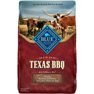 Blue Buffalo Texas BBQ Beef, Yukon Gold Potatoes, Carrots, Sweet Potatoes & Apples Grain-Free Dry Dog Food, 22-lb bag
