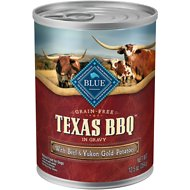 Blue Buffalo Texas BBQ with Beef & Yukon Gold Potatoes Grain-Free Canned Dog Food, 12.5-oz, case of 12