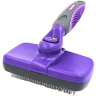 Hertzko Small Self-Cleaning Dog & Cat Slicker Brush