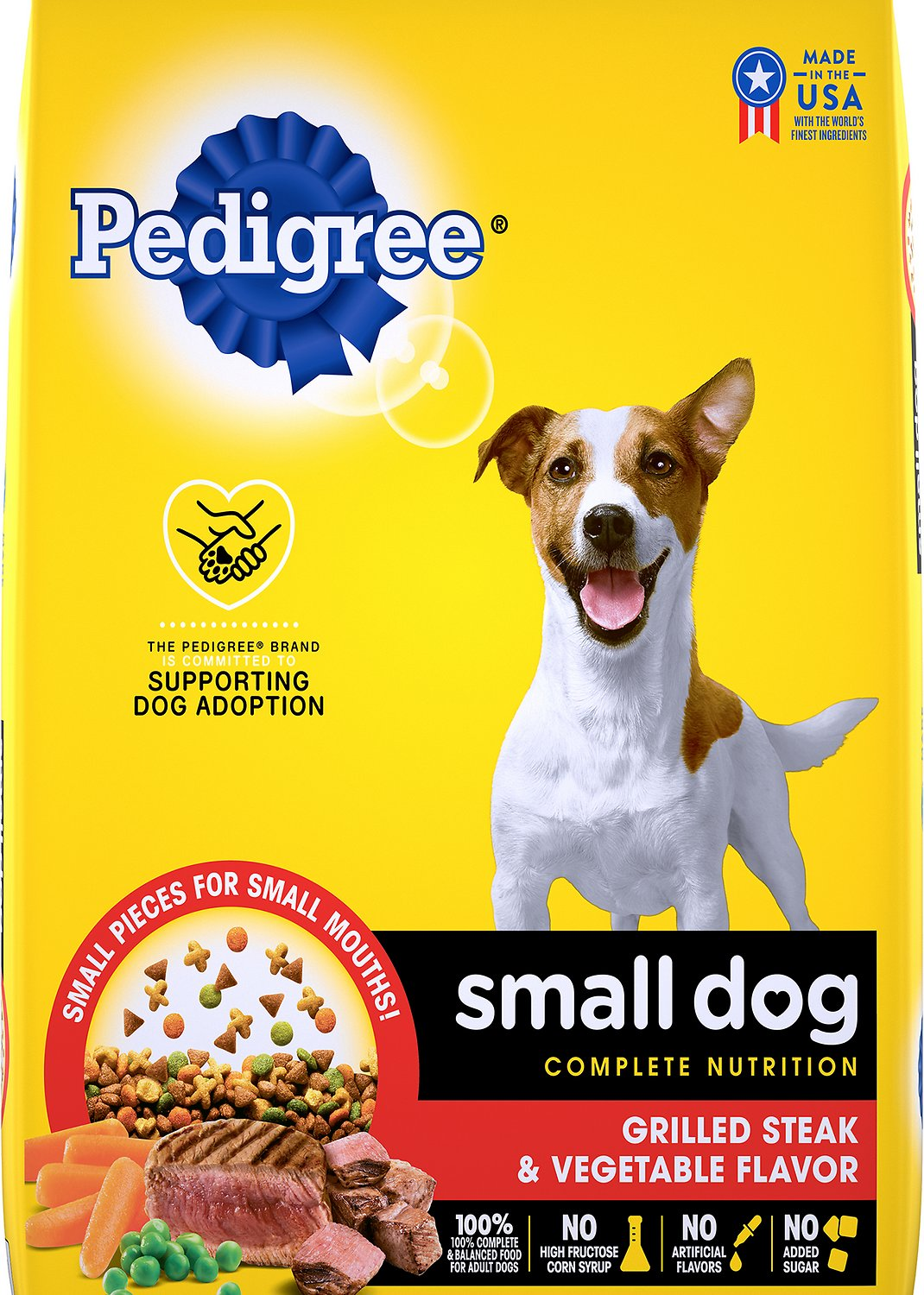 Pedigree Small Dog Complete Nutrition Small Breed Dry Dog Food