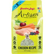 Grandma Lucy's Artisan Grain-Free Chicken Freeze-Dried Dog Food, 1-lb bag