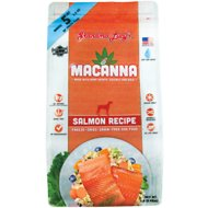 Grandma Lucy's Macanna Salmon Recipe Freeze-Dried Grain-Free Dog Food, 1-lb bag