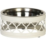 Unleashed Life Draper Collection Dog & Cat Bowl, Large
