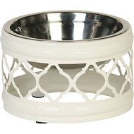 Unleashed Life Draper Collection Dog & Cat Bowl, Small