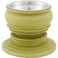 Unleashed Life Phuket Collection Dog & Cat Bowl, Small, Green