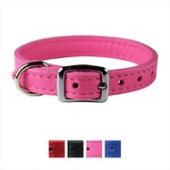 OmniPet Signature Leather Dog Collar, Pink, 14-in