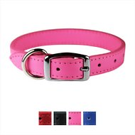 OmniPet Signature Leather Dog Collar, 20-inches, Pink