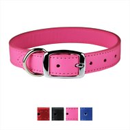 OmniPet Signature Leather Dog Collar, Pink, 16 - 20 in
