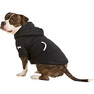 Footed Pajamas Dog Joggies, Black, Large