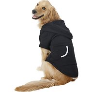 Footed Pajamas Dog Joggies, X-Large, Black
