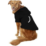 Footed Pajamas Dog Joggies, XX-Large, Black