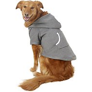 Footed Pajamas Dog Joggies, Charcoal Gray, XX-Large