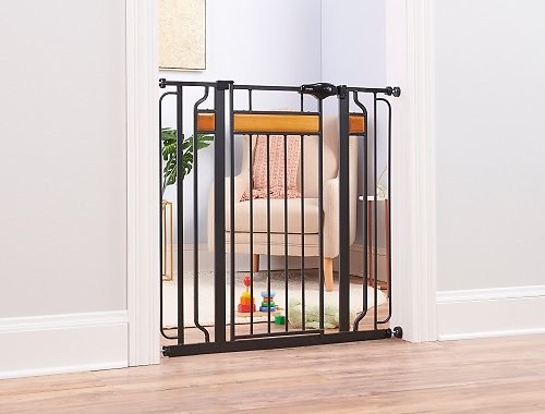 Regalo Home Accents Extra Tall Walk Through Gate 37 In Chewy Com