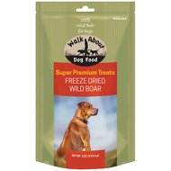 Walk About Grain-Free Freeze Dried Wild Boar Dog Treats, 4-oz bag