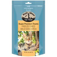 Walk About Grain-Free Freeze Dried Kangaroo Cat Treats, 2-oz bag