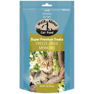 Walk About Grain-Free Freeze Dried Minnows Cat Treats, 1-oz bag