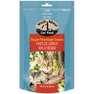 Walk About Grain-Free Freeze Dried Wild Boar Cat Treats, 2-oz bag