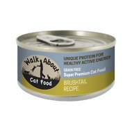 Walk About Grain-Free Brushtail Recipe Canned Cat Food, 3.5-oz, case of 24