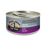 Walk About Grain-Free Goat Recipe Canned Cat Food, 3.5-oz, case of 24