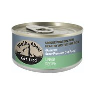Walk About Grain-Free Unagi Recipe Canned Cat Food, 3.5-oz, case of 24